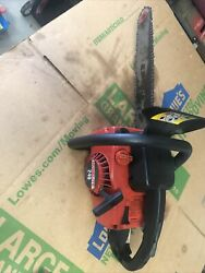 Homelite 240 Chainsaw Ut10625 16 Bar And Chain Starts Easy Needs Adjusted