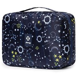 Travel Hanging Toiletry Wash Bag Makeup Cosmetic Organizer For Wome... Uk Seller