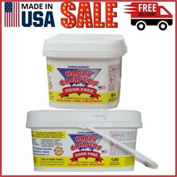 Happy Campers Organic Rv Holding Tank Treatment 64 To 130 Treatment Pack Of 1