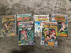Marvel Feature Red Sonja 2 - 3 - 4 - 5 - 6 Hot High Grade Vf+/nm Early Comic