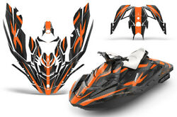 Jet Ski Graphics Kit Decal Wrap For Sea-doo Bombardier Spark 2 Up 14-18 Zooted O