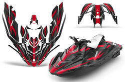 Jet Ski Graphics Kit Decal Wrap For Sea-doo Bombardier Spark 2 Up 14-18 Zooted R