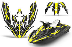 Jet Ski Graphics Kit Decal Wrap For Sea-doo Bombardier Spark 2 Up 14-18 Zooted Y