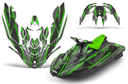 Jet Ski Graphics Kit Decal Wrap For Sea-doo Bombardier Spark 3 Up 14-18 Shock G