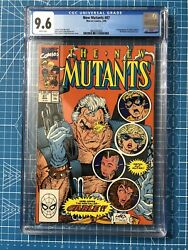 New Mutants 87 - Marvel 1990 Cgc 9.6 1st Appearance Of Cable And Stryfe