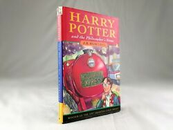 Harry Potter And The Philosopherand039s Stone - 1st Edition 4th Print Uk Bloomsbury Hb