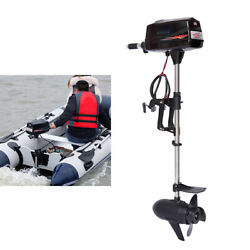 Hangkai 10hp 60v Electric Outboard Motor 2.2kw Boat Engine+switch Knob 3000r/min
