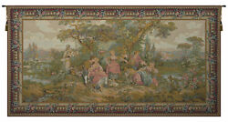 Les Amours Pastorales French Tapestry Wall Art Hanging Home Decor New 36x70 Inch