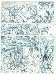 X-men Wolverine, Colossus And Kitty Pryde [marvel] - Original Page - Sergi Dome