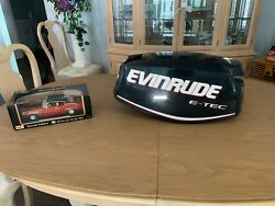 Evinrude Outboard, 30hp Etec Motor Cowling, Like New, P0285823