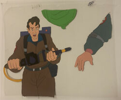 The Real Ghostbusters Venkman Animation Cel And Drawing