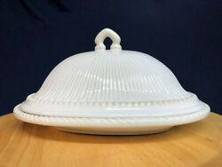 Lenox Butler's Pantry Oval Covered Butter Dish