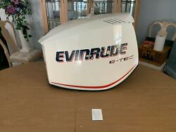 Evinrude Outboard, Etech 200hp, Motor Cowling, Like New, P0285735