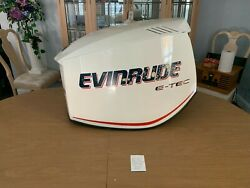 Evinrude Outboard Etech 200hp Motor Cowling Like New P0285735