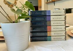 The Bible Exposition Commentary Complete Collection Old And New Testament