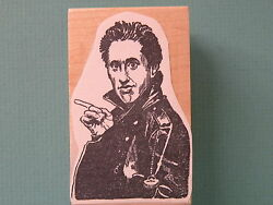 Comedian/actor Jerry Seinfeld Rubber Stamp Rare