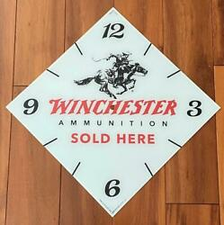 15 Winchester Diamond Glass Replacement Clock Face For Pam Clock Free Ship