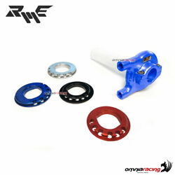 Robby Moto Competition Quick Action Trottle Without Cables 22mm Blue Color