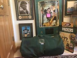 Authentic Green Bay, Vince Lombardi Era 1960s-70s Vintage Team Used Equipment 🏉