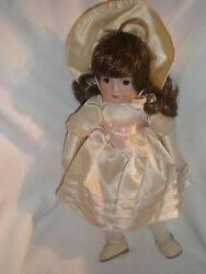 Gorham Rebecca Musical Porcelain Doll Vt639 1984 New Without Box