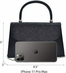 Dasein Women#x27;s Evening Bag Party Clutches Wedding Purses Cocktail Prom Handbags $38.76