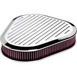 Billet Specialties 15720 Air Cleaner Triangle Balled Milled Polished
