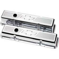 Billet Specialties 95221 Valve Cover Sbc Tall Bowtie Polished