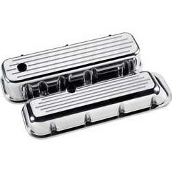 Billet Specialties 96120 Valve Cover Chevy Bbc Tall Balled Milled Polished