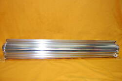 Finned Aluminum Transmission Cooler 24 Single Pass Oil Fits Sbc Bbc Chevy Ford