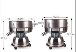 Stainless Steel Electric Powder Vibration Sieve Machine Screen Deck Sifter Shake