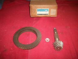 Chevy Gmc C10 Blazer 4wd Truck Nos Front Axle 4.56 Ring / Pinion Set In Gm Box