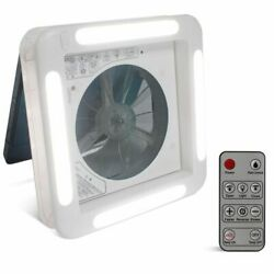 Rv Fan Ventilation Port 12 Volt 11in Electric Controlled Led Camping Car Window