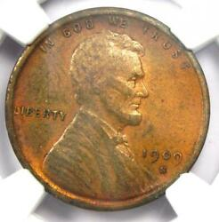 1909-s Vdb Lincoln Wheat Cent 1c Penny - Ngc Xf Details - Rare Key Date Coin