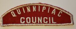 Boy Scout Quinnipiac Council Rws Connecticut Red And White