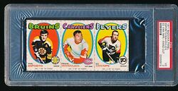 1971 Bazooka Panel Phil Esposito Frank Mahovlich Psa 3 - Only Two Ever Graded