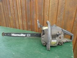 Vintage Craftsman Chainsaw Chain Saw With 18 Bar