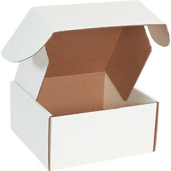 10 X 10 X 5 White Deluxe Literature Mailers Ect-32b - 500 Pieces