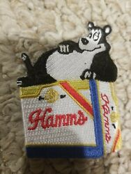 Lot Of 10 Retro Hamms Beer Patches