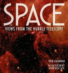 Space 2018 Mini Wall Calendar Views From The Hubble Telescope
