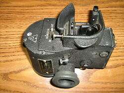Bausch And Lomb An 5854-1 Aircraft Air Bubble Sextant Af Wwii Reconditioned
