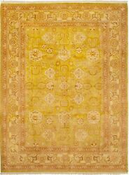 Hand-knotted Carpet 9'0 X 12'0 Peshawar Finest Traditional Wool Rug