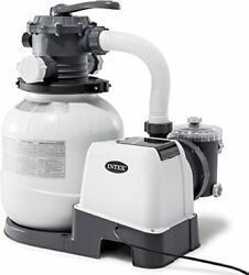 Intex 2100 Gph Sand Filter Pump For Above Ground Pools 26645eg Fast Ship