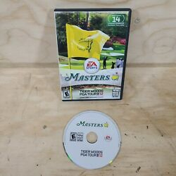 Tiger Woods Pga Tour 12 The Masters Pc Mac Video Game With Manual