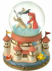 Disney Store 2021 Ariel And Scuttle Snow Globe The Little Mermaid Story Collection