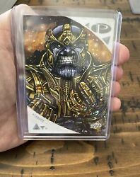 2019 Upper Deck Marvel Premier Sketch Of Thanos The Mad Titan By Chris Meeks 🤯