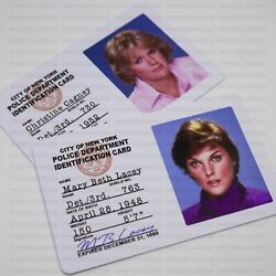 Cagney And Lacey Police Detective Badges 80s Tv Cop Show Movie And Tv Props