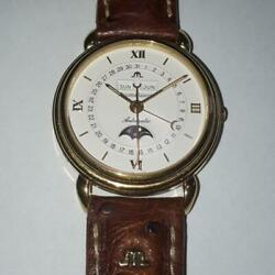Marice Lacroix Ml13 Automatic Triple Calendar-moon Phase Free Shipping From Jpn