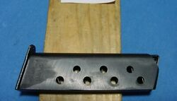 Genuine Wwii Issue Original German Walther Pp Caliber 7.65 M/m 8 Rd Magazine