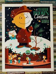 A Charlie Brown Christmas Poster By Tom Whalen 2011