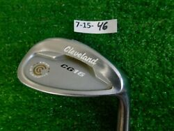 Cleveland Cg16 Tour Satin Chrome 54 14 Sand Wedge Traction Steel